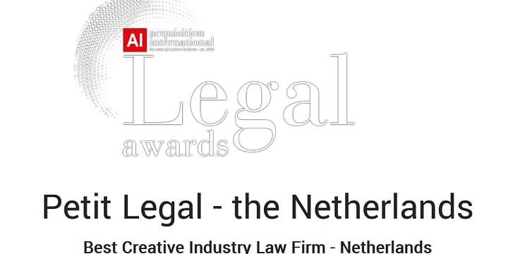 Acquisition International Legal Award 2020 - Petit Legal